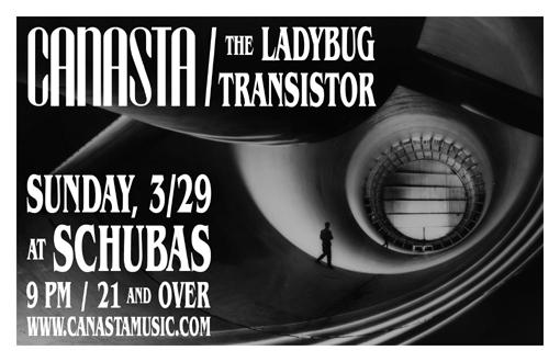 Canasta & The Ladybug Transistor