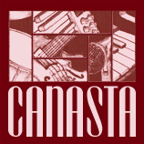 Dark red Canasta t-shirt