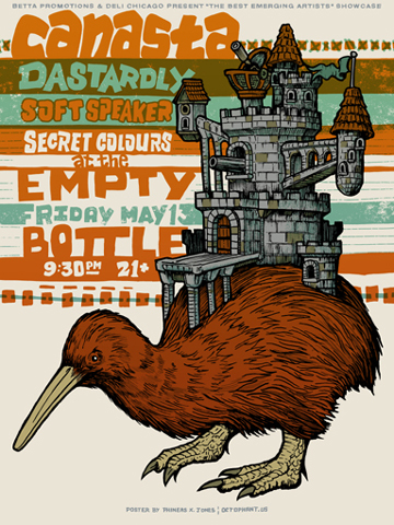 Canasta's Empty Bottle Poster by Phineas X. Jones
